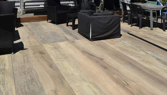 DeckWay Porcelain Planks Offer An Elegant, Non Combustible And Low  Maintenance Alternative To Natural Wood For Elevated Decks.
